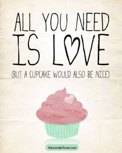 All you need is a Cupcake