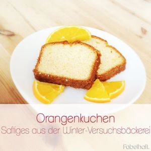 Supersaftiger Orangenkuchen