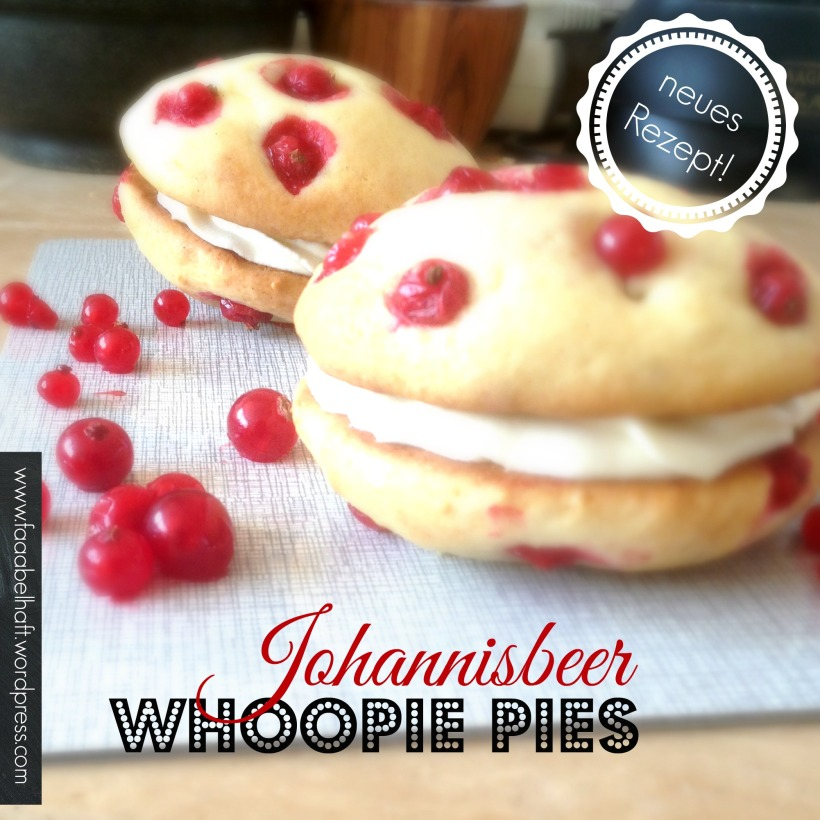Johannisbeer Whoopie Pies - faaabelhaft