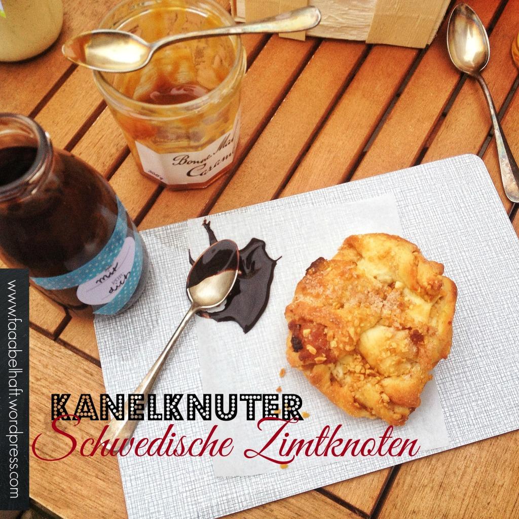 faaabelhaft: Kanelknuter - schwedische Zimtknoten