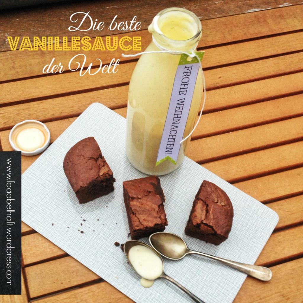 faaabelhaft: Die beste Vanillesauce der Welt