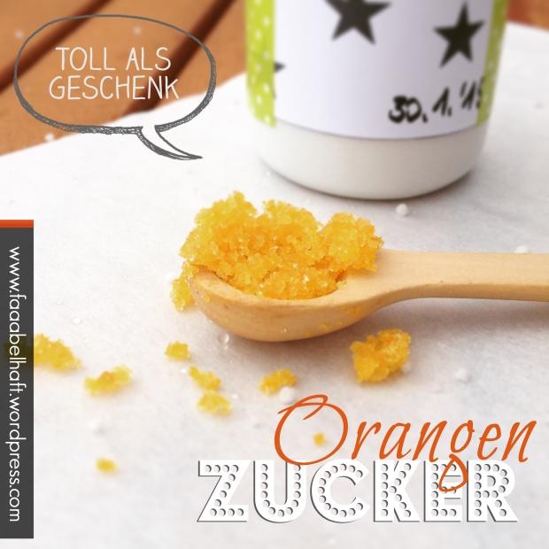faaabelhafter Orangenzucker