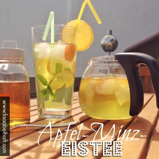 faaabehalfter Apfel-Minz-Eistee