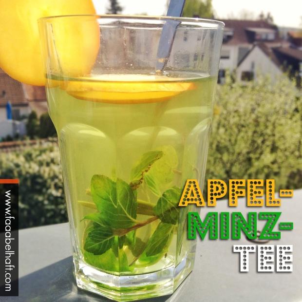 faaabehalfter Apfel-Minz-Tee