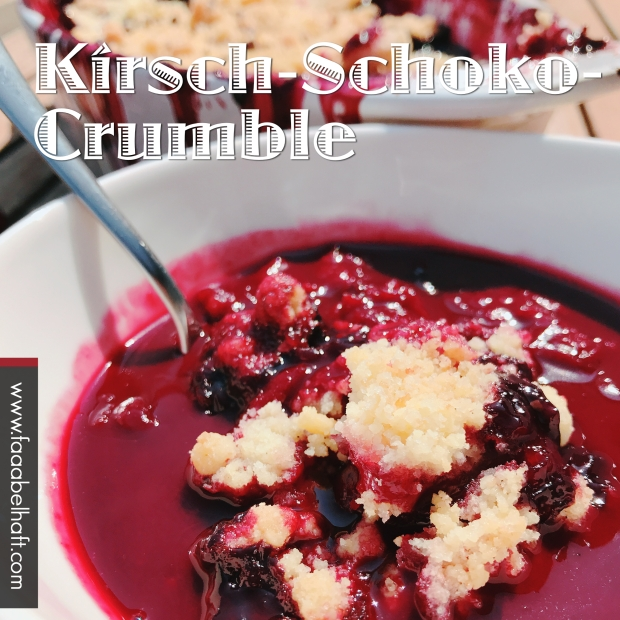 190416-Crumble - Schoko-Kirsch 2